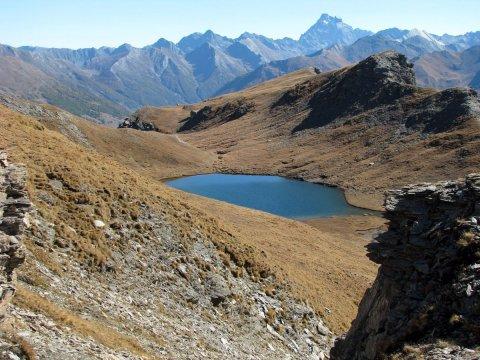 Un des lacs de Malrif à Aiguilles