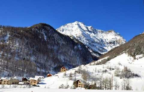 Le Coin, hameau d'Arvieux (Queyras, Hautes Alpes)