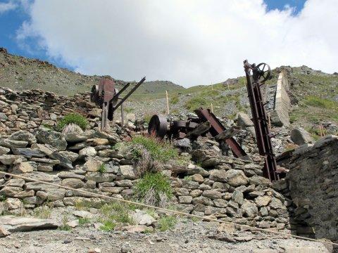 Mine de cuivre à Saint-Véran (Queyras)
