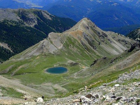 Lac de Souliers vu depuis Côte Belle