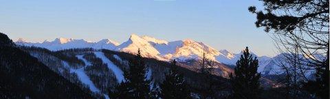 Una sera di inverno a Arvieux  (Queyras, Alte Alpi))