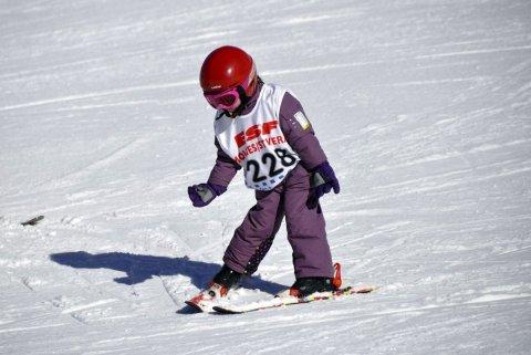 Premier chasse-neige à Molines-en-Queyras (Hautes Alpes)