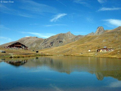 Refuge de la Blanche à Saint-Véran (Queyras, Hautes Alpes)