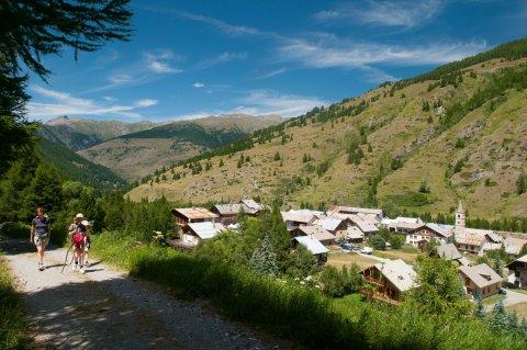 Ristolas, ein Dorf im Queyras