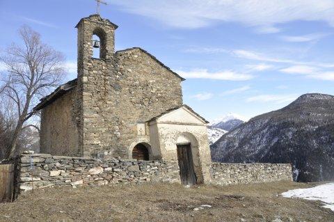 Chapelle de Rouet à Château-Ville-Vieille (Queyras)
