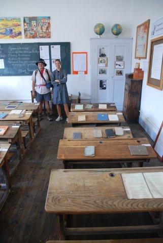 Musée de l'école à Arvieux (Queyras)