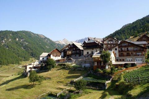 Souliers, hameau de Château-Ville-Vieille (Queyras, Hautes Alpes)