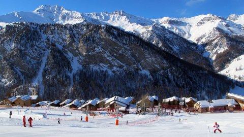Station de ski alpin de Molines-en-Queyras (Hautes Alpes)