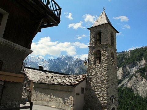 Toits de Saint-Véran (Queyras, Hautes Alpes))