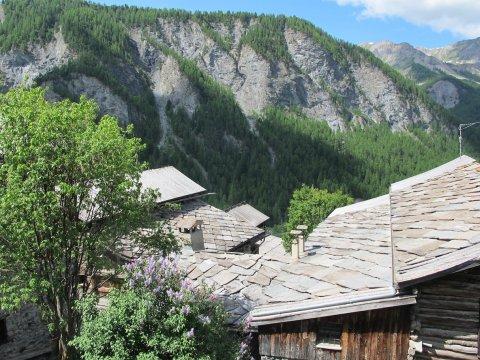 Dächer in Saint-Véran (Queyras)