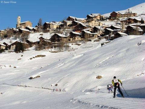 Traversée du Queyras à ski de fond