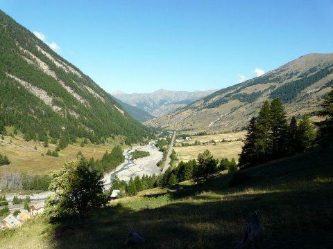 Vallée du Haut Guil à l'amont de Ristolas (Queyras, Haute Alpes)