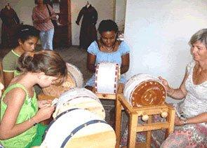 Un atelier de dentelle du Queyras