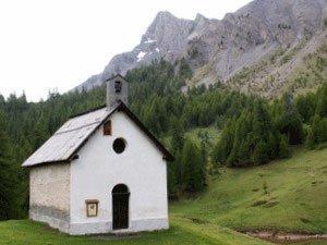 Molines-en-Queyras, chapelle Saint Simon