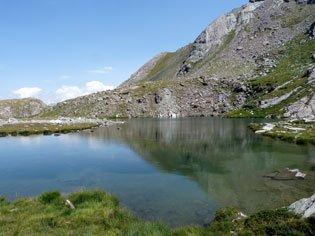 Le lac Baricle à Ristolas