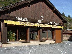 Maison de l'artisanat à Château-Ville-Vieille (Queyras, Hautes Alpes)