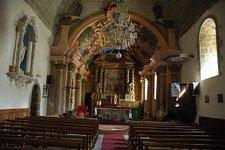 In der Kirche von Molines-in-Queyras