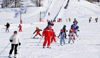 La station de ski de la Chalp d'Arvieux