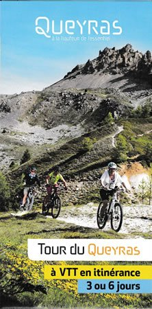 Mountain-bike guide to the Tour du Queyras available at the Office du Tourisme