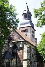 Die Kirche von Hofgeismar