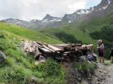A la mine de cuivre de Saint-Véran (Queyras, Hautes Alpes)
