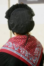 Costume tradizionale del Queyras - Scialle e cuffia