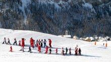 Lezione di sci a Saint-Véran (Queyras)