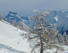 Hiver à Abriès (Queyras, Hautes Alpes)