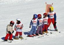 Lezione di sci a Molines-en-Queyras (Alte Alpi)