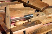 Artigianato del Queyras - Alcuni attrezzi da falegnameria