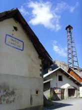 PROSECUTOR'S TOWER at Arvieux (Queyras, Hautes Alpes)