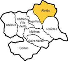 Abriès, eines der acht Dörfer des Queyras in den Hochalpen