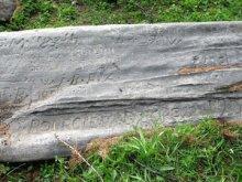 Una delle pietre scritte di Abriès