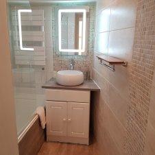 Salle de bain Appartement CôteBelle La Girandole Arvieux en Queyras