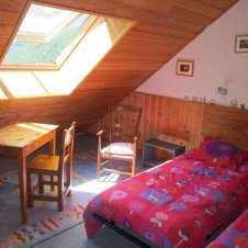 Chambre n°2 Meublé Ancolie
