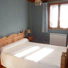 La chambre 1 de l'appartement les Jonquilles 4 personnes à Saint-Véran