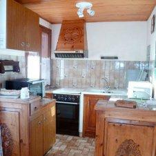 La cuisine de l'appartement les Jonquilles 4 personnes à Saint-Véran
