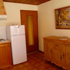Le coin cuisine de l'appartement les Narcisses 4 personnes à Saint-Véran