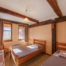 Chambre 2 lits à une place