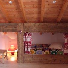 Chambre 4  lits 2 niches