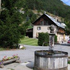 la fontaine des Moulins