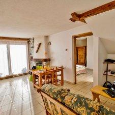Le coin salon de la Pointe du Jour, appartement 8837 pour 4 personnes