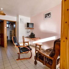 Le coin salon de la Pointe du Jour, appartement 8838 pour 4 personnes