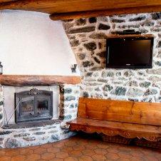 Le coin cheminée du Chatelet, maisonnette indépendante 8835 pour 5 personnes