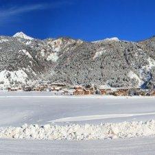 La plaine de Ceillac dédiée aux activités nordiques