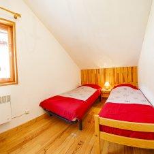 Chambre 2 lits 1 place, 2nd