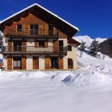 Chalet les Tourres hiver- Appt Le CHamois RdC Gauche