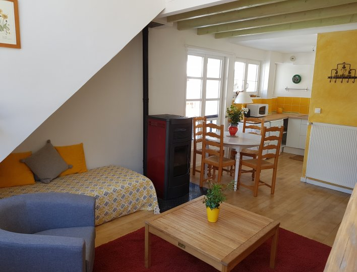 Salon Appartement Rochebrune