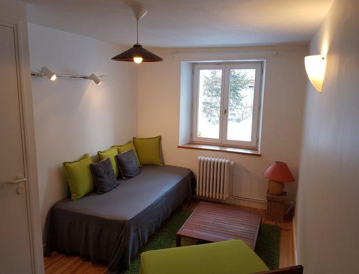 Petit salon Appartement Lauzon Arvieux en Queyras