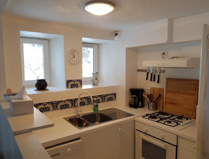 Cuisine Appartement Lauzon Arvieux en Queyras